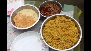Village Food   Eid festival in my village   Grandmother recipes-88