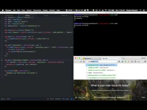 Streaming Audio con Node.js - 10 - Stream audio con mediaserver