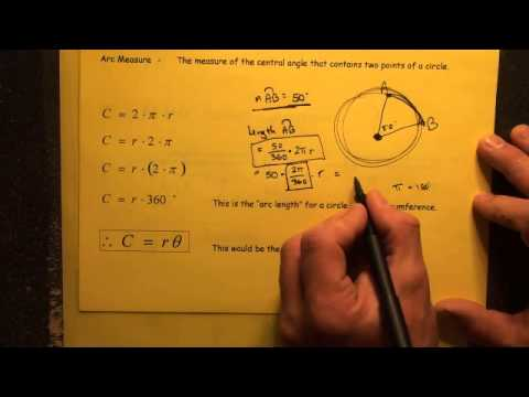 #168 Distance Between Two Points on a Circle Arc Length