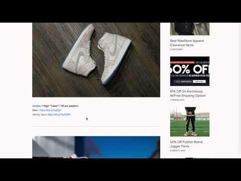 Where To Find Sneaker Steals and Kicks Deals Online!