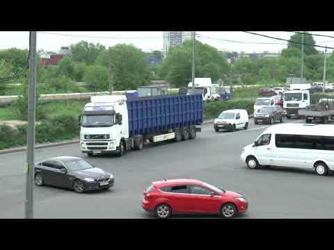 RUSSIA ST PETERSBURG LORRIES MAY 2018