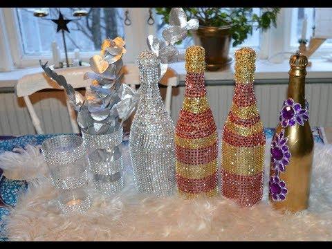 How to make a bling bottles // Nannah Abynah Jän