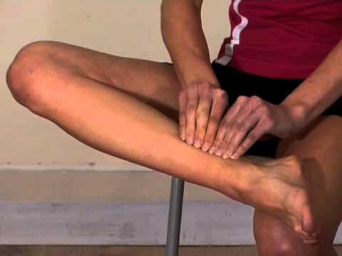 Effective massage to soleus and posterior compartment