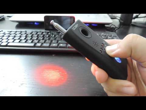 Review - CC308+ RF And Camera Detector