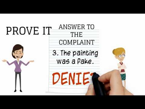 What is an Answer to the Complaint?