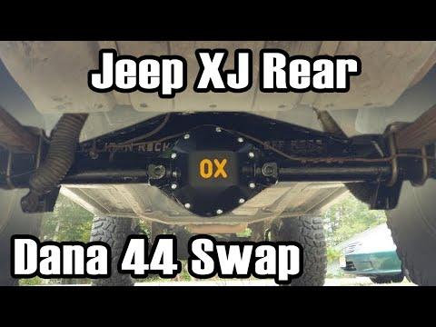 89 Cherokee Rear Dana 44 Axle Swap