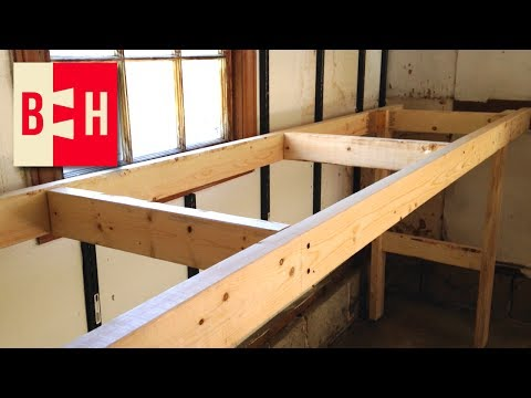 DIY Workbench // Simple design from 2x4s