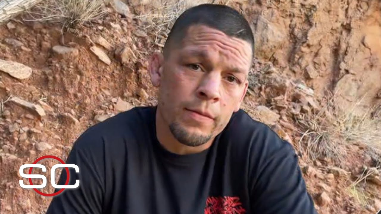 Nate Diaz responds to people picking Leon Edwards to beat him at UFC 263   SportsCenter