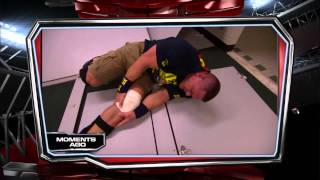 John Cena suffers a potentially torn meniscus after being attacked by Dolph Ziggler: Raw, Nov. 19, 2