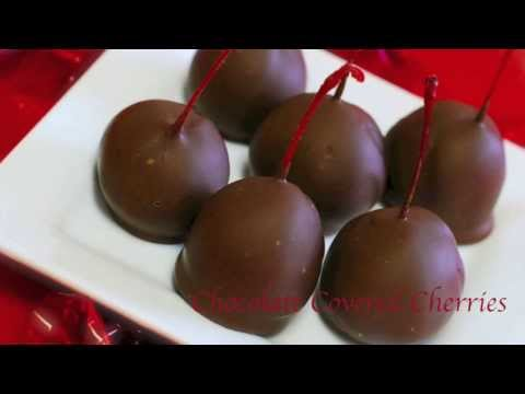 Homemade Chocolate Covered Cherries ~ Valentine's Day