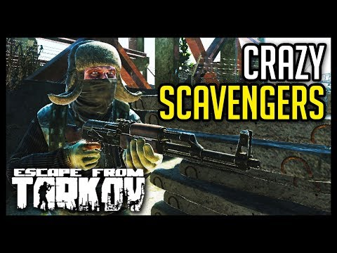 Escape from Tarkov - Abnormal Scav Behavior