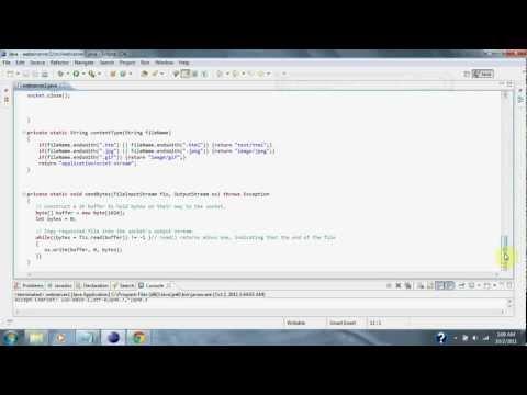 Java Web Server
