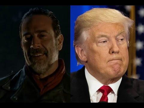 Is President-Elect Donald Trump like #TheWalkingDead's Negan?