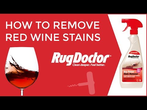 How to Remove Red Wine Stains from Carpets | Rug Doctor