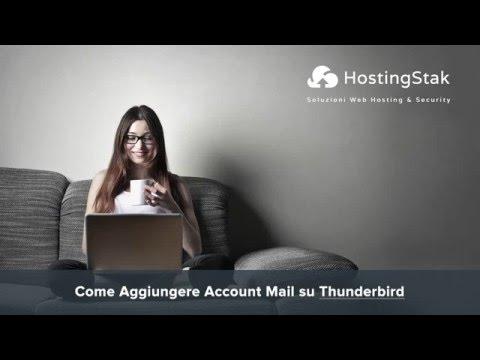 Come Aggiungere un Account Mail su Thunderbird