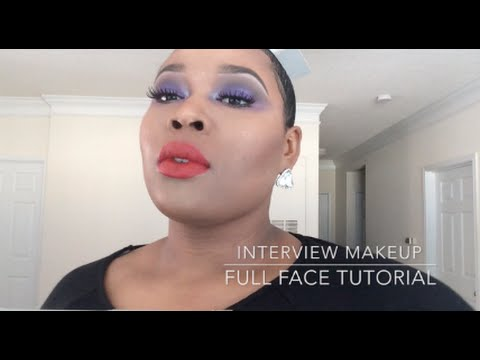 Cosmetic Company INTERVIEW MAKEUP (Talk through)