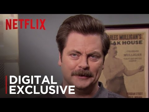 Ron Swanson's Life Lessons | Parks and Recreation | Netflix