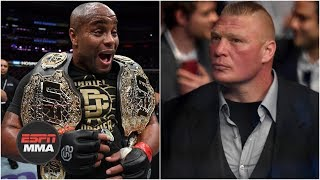 Brock Lesnar and Daniel Cormier will eventually meet in the Octagon – Brett Okamoto | ESPN MMA