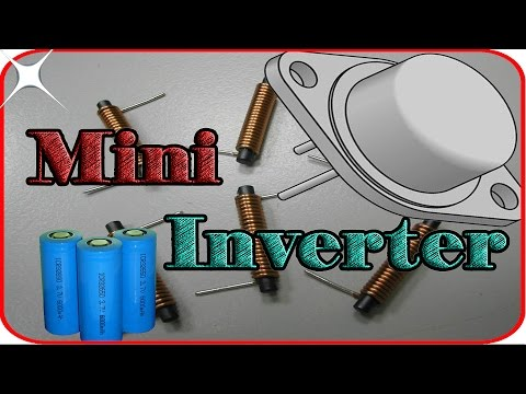 How to make mini rechargeable inverter at home 3.7v to 12v No skills Required