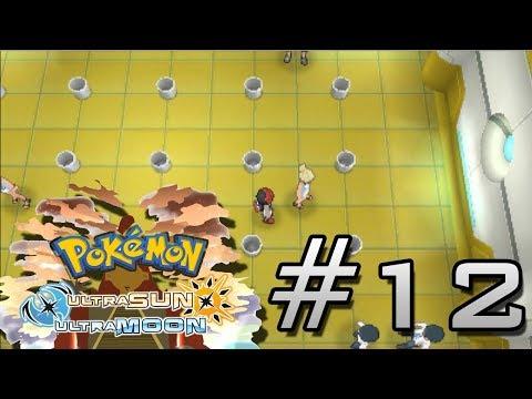 Pokemon Ultra Sun & Ultra Moon - KANTO GYM LT SURGE BADGE: Walkthrough Part 12