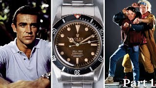 Iconic Watches Featured in Movies & Television Part 1 (James Bond, Back to the Future & More)