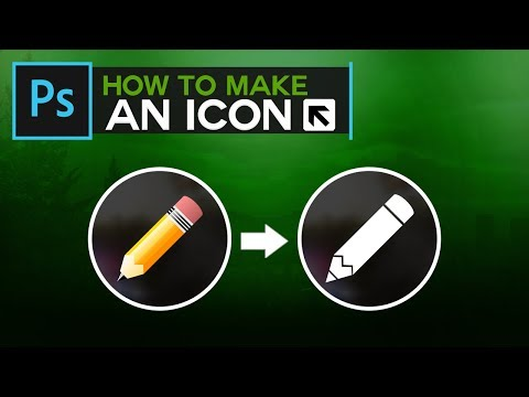 Photoshop: How To Make Icons (Turn Any Object Into an Icon)