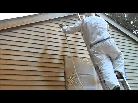 How to Paint Siding on Home by All Prep Painting