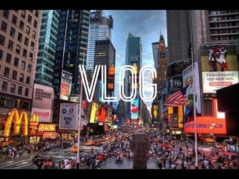 Vlog: Times Square, Shopping