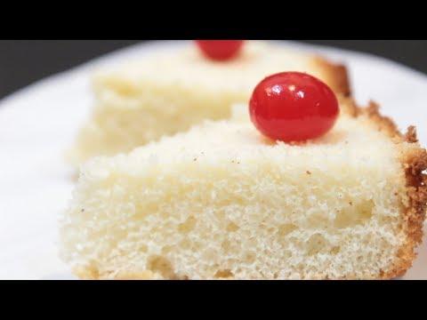 Vanilla Sponge Cake | Easy Sponge Cake in pressure cooker |Bakery Style Cake Recipe