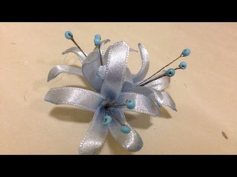How To Make Pretty Ribbon Flowers - DIY Crafts Tutorial - Guidecentral