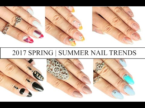 2017 NAIL TREND TUTORIAL- MUST TRY!