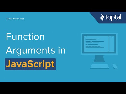 JavaScript Video Tutorial - The Flexibility of Function Arguments in JavaScript