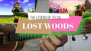 The Legend of Zelda - Ocarina Of Time - Lost Woods - UKULELE TUTORIAL