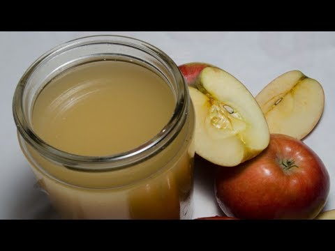 Easy Way To Make Your Own Apple Cider Vinegar At Home