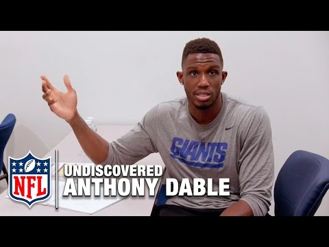 Anthony Dable - Behind the Scenes at Giants Minicamp | NFL
