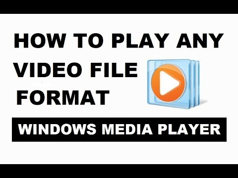How to Play Any Video File Format in Windows Media Player 2019 | Easily & Working