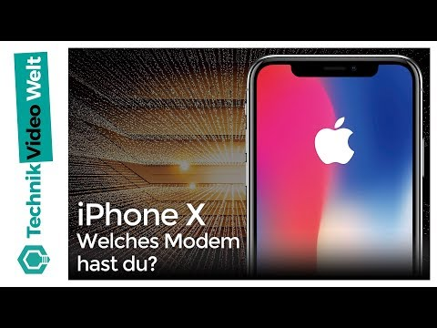 iPhone X Welches Modem hast du?