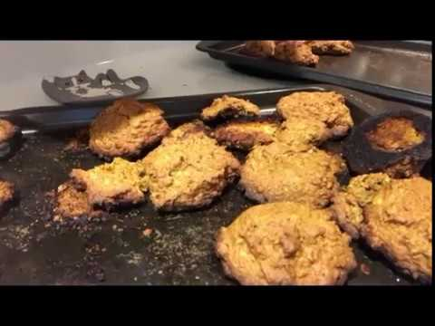 How not to bake pumpkin cookies (delicious though!)