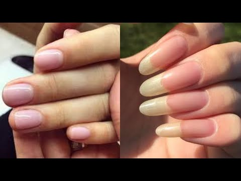 How to GROW NAILS FASTER (Results in LIVE Video), 100% WORKING ✔✔