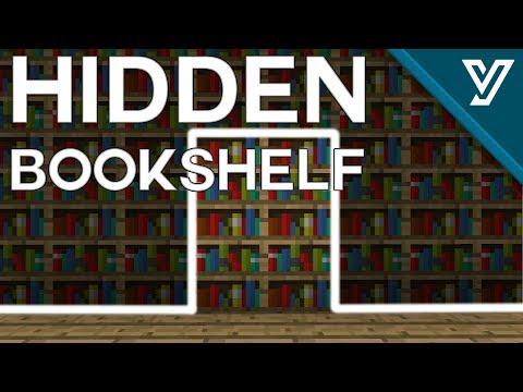 [TUTORIAL] TINY Hidden Bookshelf Door for Minecraft ( 1.11 / 1.12 )