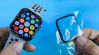 Apple watch series 5 44mm Touch Glass Repair | New 2020 _ 4K