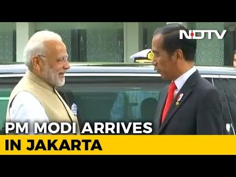 PM Modi Arrives In Indonesia On First Leg Of Three-Nation Visit