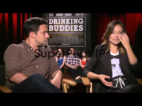 Jake Johnson and Olivia Wilde on Olivia gaining weight in...