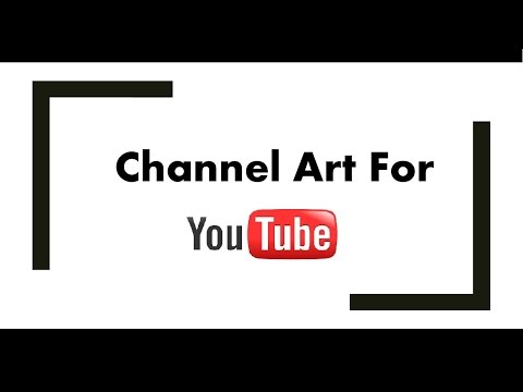 How to create YouTube channel art using MS paint