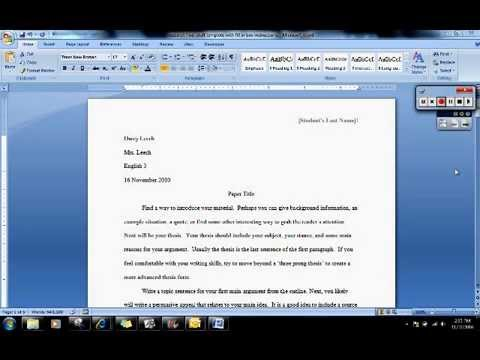 What should be in my research paper introduction?