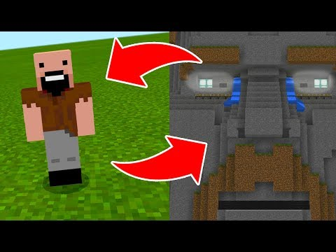 How To Spawn NOTCH in the TEMPLE OF NOTCH in Minecraft Pocket Edition