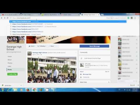 How to find someones facebook account Use facebook image HINDI 2017