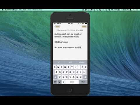 Turn Off AutoCorrect on iPhone in 15 Seconds or Less