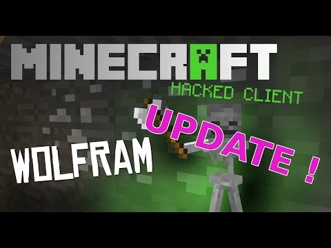 Minecraft 1.8.1 - 1.8.3 : Hacked Client - WOLFRAM ! - We are getting a SERVER ! [HD]