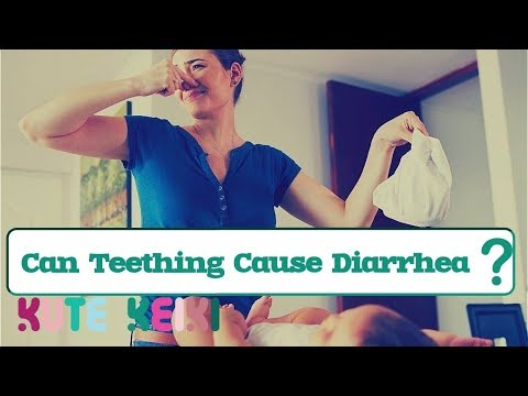Can Teething Cause Diarrhea in Babies?